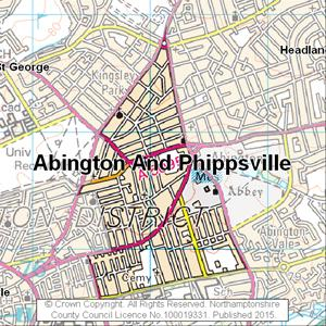 Map of Abington And Phippsville electoral division