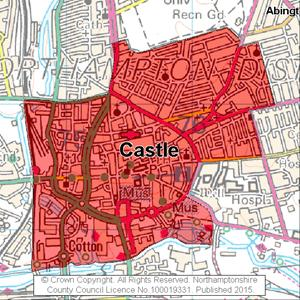 Map of Castle electoral division