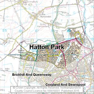 Map of Hatton Park electoral division
