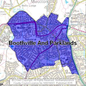 Map of Boothville And Parklands electoral division