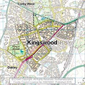 Map of Kingswood electoral division