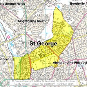 Map of St George electoral division