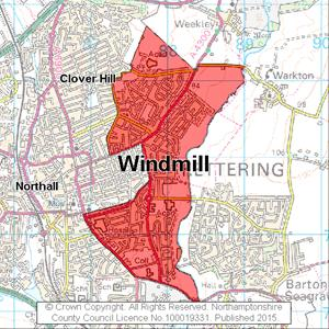 Map of Windmill electoral division