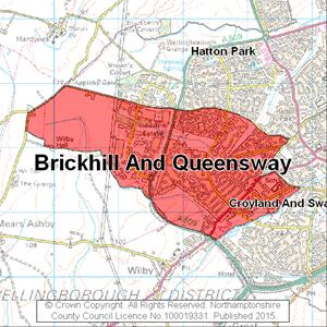 Map of Brickhill And Queensway electoral division