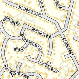 Map tile 453445.252581