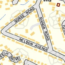 Map tile 453462.252844
