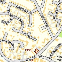 Map tile 453505.252474