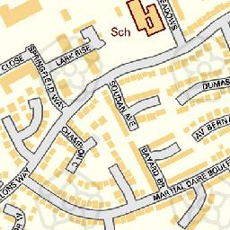 Map tile 458002.237681