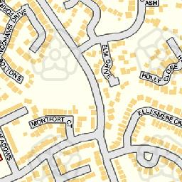 Map tile 458288.237986